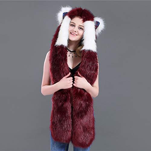 Animal Unisex Sombrero Piel sint Aivtalk qH5zUw5