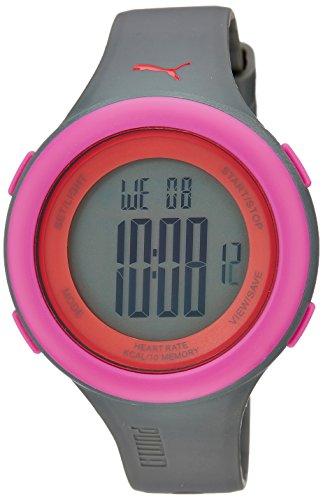 Puma PU910961004 Fit Matt Grey Pink Watch