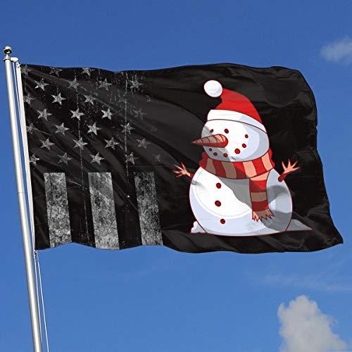 Louisiana Halloween Shooting (A13UDQ Outdoor Flags USA Flag Christmas Snowman 3X5 Ft Flag for Outdoor Indoor Home Decor Sports Fan Football Basketball Baseball)