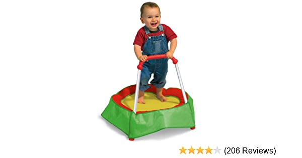 6b28a021a Amazon.com  Diggin Hop Mini Toddler Trampoline with Handle. Baby ...