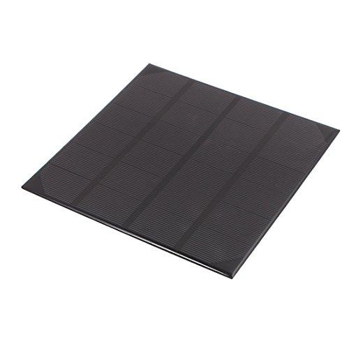 uxcell 165mm x 165mm 4.5 Watts 6 Volts Monocrystalline Solar Cell Panel Module