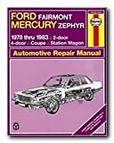 Haynes Ford Fairmont and Mercury Zephyr (78 - 83) Repair Manual (36028)