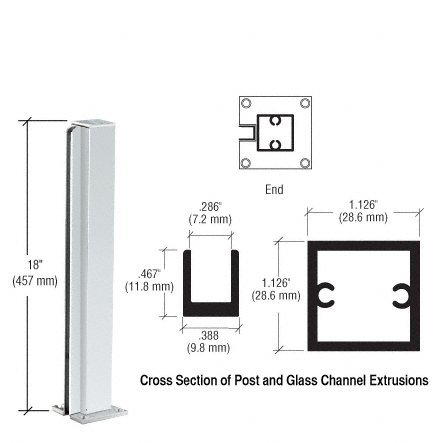 Partition Displays (CRL Satin Anodized Standard 18