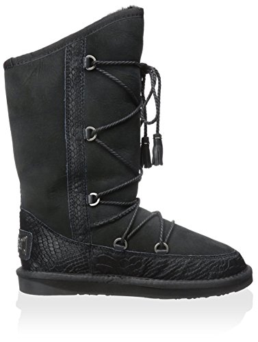 Australia Luxe Collettivo Donna Norvegese Lace Up Mid Shearling Boot Nero