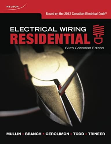 electrical wiring residential ray c mullin tony branch sandy rh amazon ca Residential Wiring Symbols Residential Wiring For Dummies