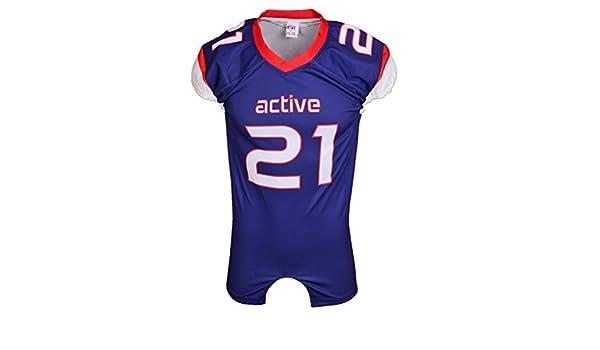 Desgaste de encargo del diseño de camiseta de fútbol de fútbol rápido en seco Jersey: Amazon.es: Ropa y accesorios