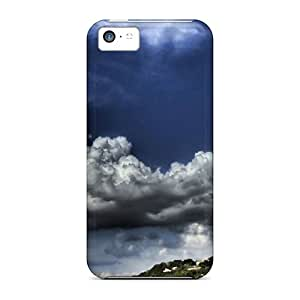 Awesome Case Cover/iphone 5c Defender Case Cover(clouds)