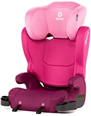 Diono Cambria 2 Latch 2022, 2-in-1 Belt Positioning Booster Seat, High-Back to Backless Booster XL Space and Room to Grow, 8 Years 1 Booster Seat, Pink
