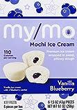 My/Mo Ice Cream Vanilla Blueberry, 6Count