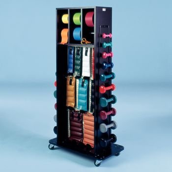 DSS Combination Weight Rack with Mirror (Accessorized Multi-Purpose) by Dennis Stubblefield Sales