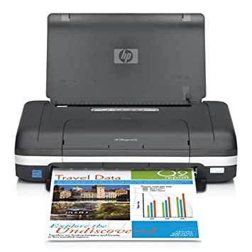 HP Officejet H470b Mobile Printer - Impresora de Tinta (4800 ...
