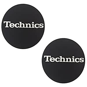 Technics 2x alfombrillas de fieltro para tocadiscos