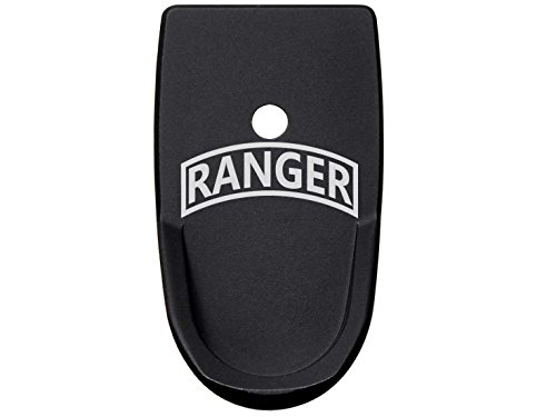 NDZ Performance Banner Ranger Tactical Grip Extension Floor Base Plate Textured for S&W Smith & Wesson Shield 9mm -