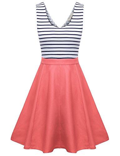 Buy beautiful short pink dress - 4