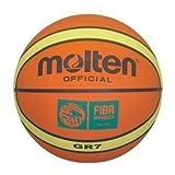 Molten BGR7 FIBA Outdoor Rubber 29.5 Menand#039;s Basketball