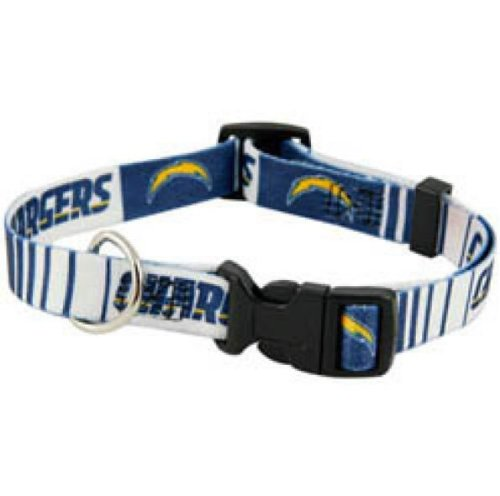 DoggieNation 716298230349 Small San Diego Chargers Dog Collar (Diego San Chargers Dog Collar)