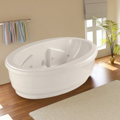 Designer nina salon spa soaking bathtub for Bathtub material comparison