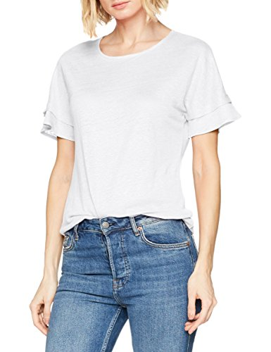 offwhite Para 98 Mujer Blanco Camiseta Brax Pp6Izv