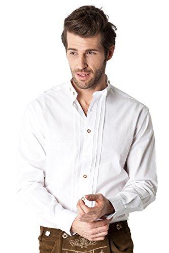 Ludwig und Therese Herren Trachtenhemd Louis weiß 2430 L