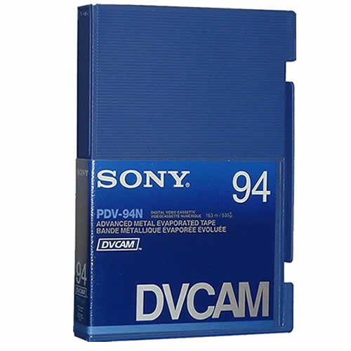 Sony DVCam Large Cassette Tape, 94 Min. Without Chip, PDV-94N