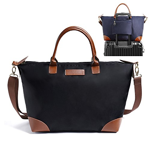 BEKILOLE Spacious Travel Duffle Bag Tote Shoulder Bag Carry