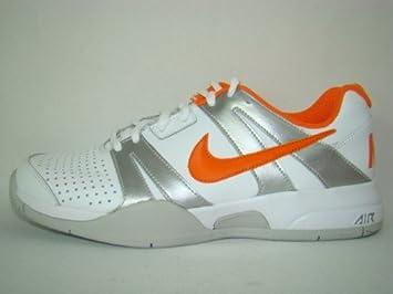 0360e90ac6d67 NIKE Air Max Courtballistec 1.2 Tennisschuh weiß/silber/orange ...