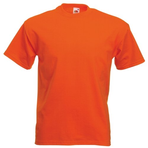 Fruit of the Loom Super Premium T-Shirt Orange – klein