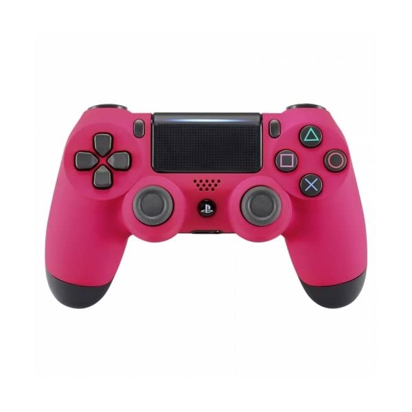 OC Gaming PS4 Dualshock Playstation 4 Controller Custom Soft Touch New Model JDM-040 (Pink) 1
