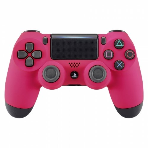 PS4 Dualshock Playstation 4 Controller Custom Soft Touch New Model JDM-040 (Pink)