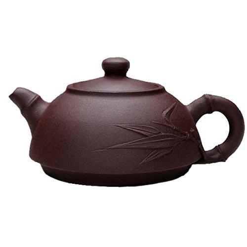 ufengke®Chinese Yixing Handmade Zisha Purple Clay Teapots-Hezhu-Zini-190cc