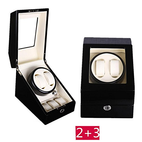KAIHE-BOX Automatic Watch Winder Winder sstorages box Display Box Case Quiet Mabuchi Motors WB6935 , #10 by KAIHE-BOX (Image #4)