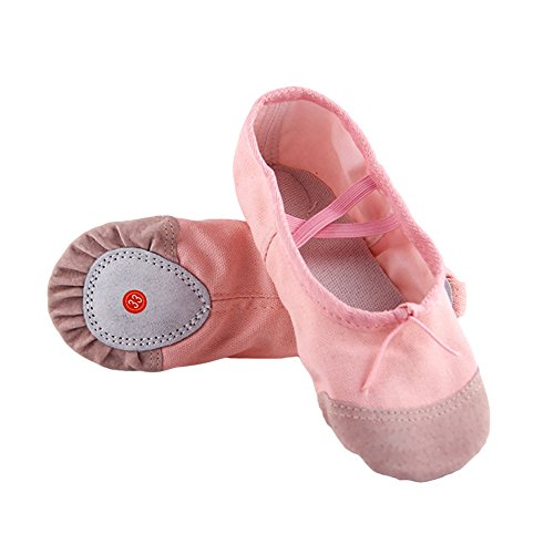 De Dance 37 Fille Femme Souple Confortable Chaussures Enfant Respirant Chaussons Appartements Danse Elegantstunning Ballet Yoga Pointe Pink pxFw4
