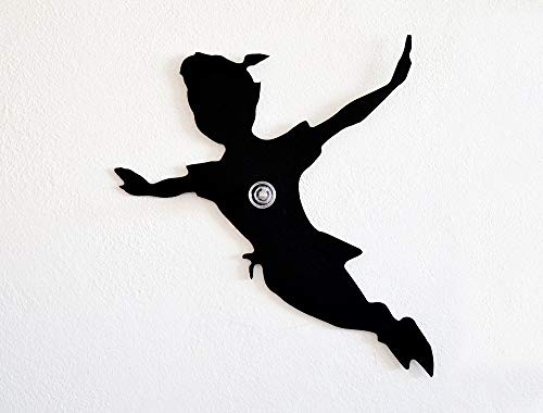 Peter Pan Silhouette - Wall Hook/Coat Hook/Key Hanger]()