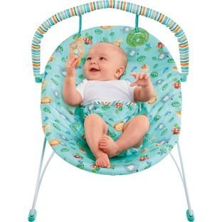 2f6e70cd4d7d Bright Starts Jolly Safari Vibrating Bouncer.  Amazon.co.uk  Baby