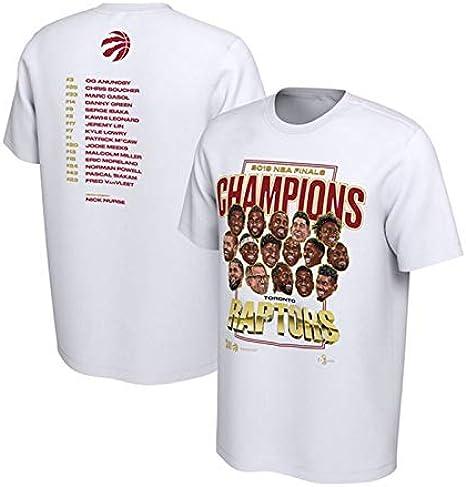 GHMM Camisa NBA T de los hombres Raptors Leonard de algodón de manga corta casual deportiva camisa de flores blanca (Size : XXXL): Amazon.es: Ropa y accesorios