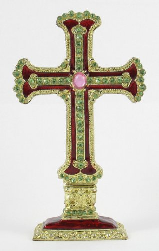 Standing Tabletop Ornate Cross Collection ()