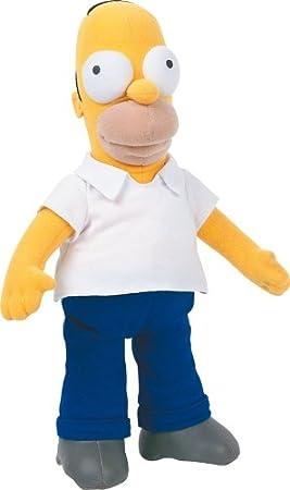 United Labels 1000182 Los Simpson - Peluche de Homer (26 cm)