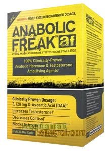 Pharmafreak Anabolic Freak Nutritional-Supplement, 96 Count