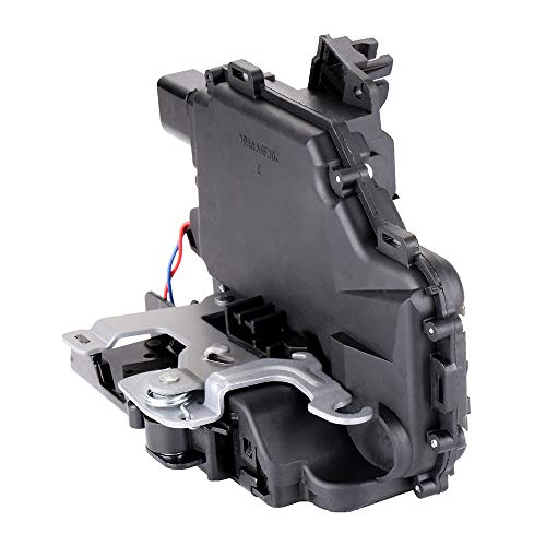 Left Door Rear Jetta (SCITOO Power Door Lock Actuators Rear Left Door Latch Replacement Fits for 1999-2012 Volkswagen)