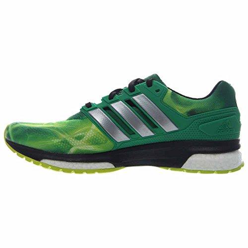 Adidas Response Boost Tf Scarpe Da Corsa Mens Limitate Giallo-bianco-verde Solare