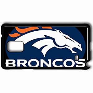 Personalized Samsung Note 4 Cell phone Case/Cover Skin 1294 denver broncos 0 Black by supermalls