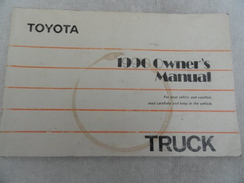 1990 Toyota Truck Owners Manual