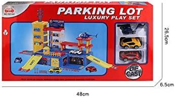 Yavso Yavso Garaje Coches Juguete Parking Infantil de 4