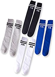 Knee High Tube Socks for Boys, Girls, Baby, Toddler & Child 3,4 P