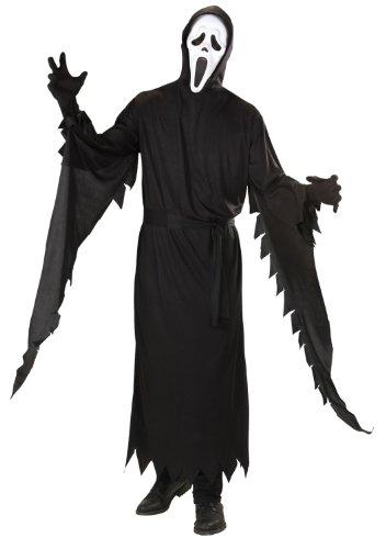 Widmann 45863 - Kostüm Screaming Ghost, Größe L, inklusive Maske