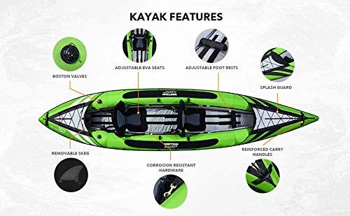 Driftsun Almanor 130 Kayak de Dos Personas Inflable ...