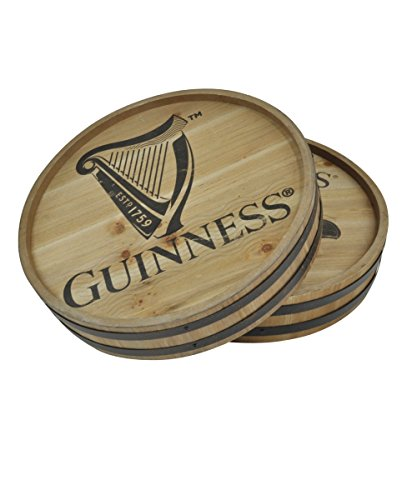 Guinness HARP Wooden Barrel Top -