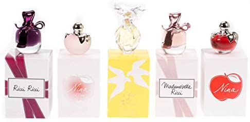 Nina Ricci miniatura señoras Perfume estuche regalo de Navidad 5 ...