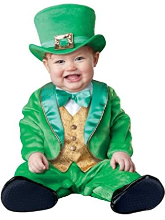 InCharacter Costumes Baby's Lil' Leprechaun Costume, Green, X-Small