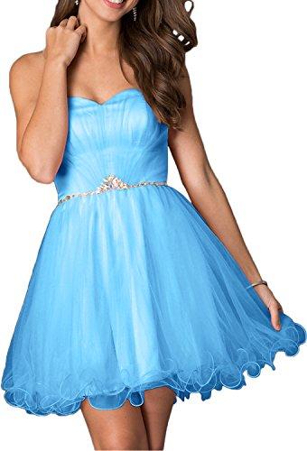 Rosa Kurzes Cocktailkleider Damen Damen Herzausschnitt Kleider Festliche Blau Ballkleider Abendkleider Charmant Traegerlos 5vHYUnRqn